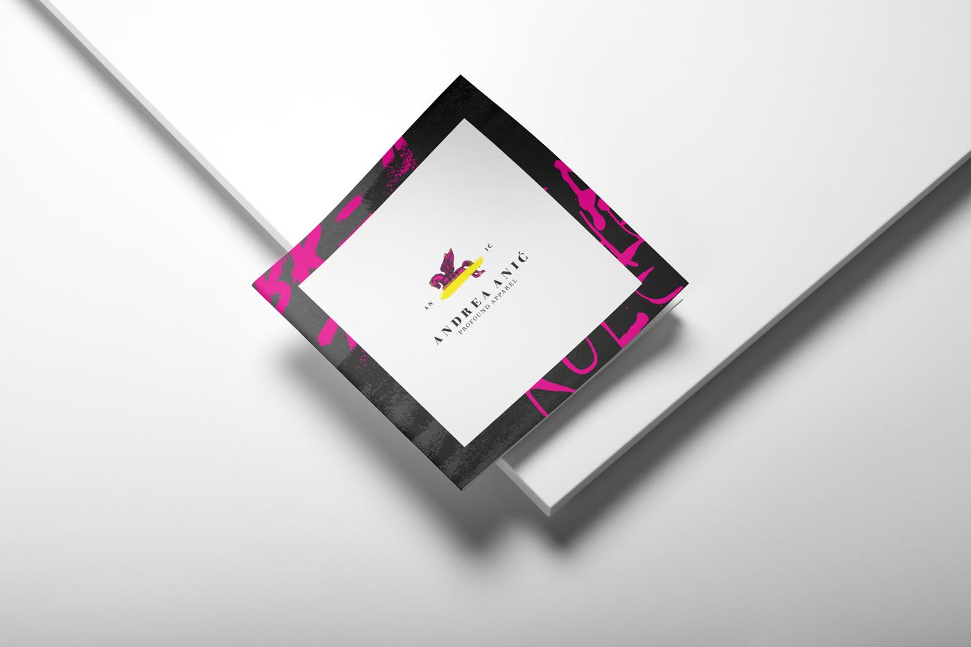 Zambelli Brand Design - Andrea Anić - Profound Apparel - Booklet