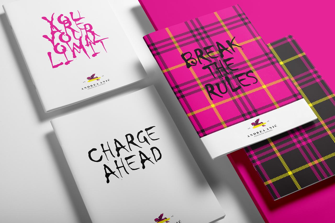 Zambelli Brand Design - Andrea Anić - Profound Apparel - Stationery