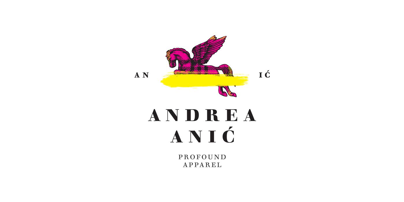 Zambelli Brand Design - Andrea Anić - Profound Apparel - Logo Vertical